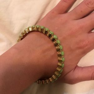 Lilly Pulitzer Green Bangle - Like new!